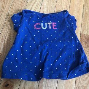 """""""Cute"""" Polka Dot Top"""